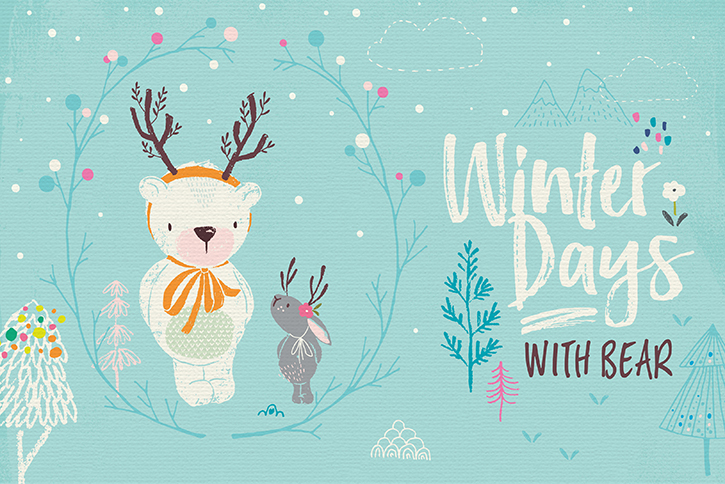 winter-days-bear