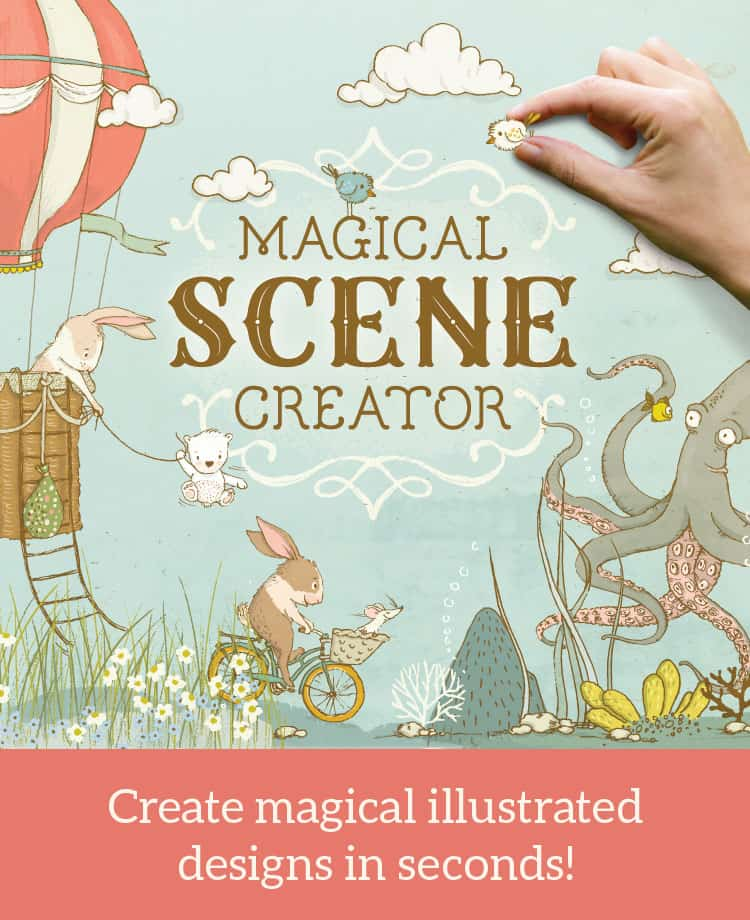 Illustrated Book Cover Generator : How to create lovely illustrated designs in minutes no