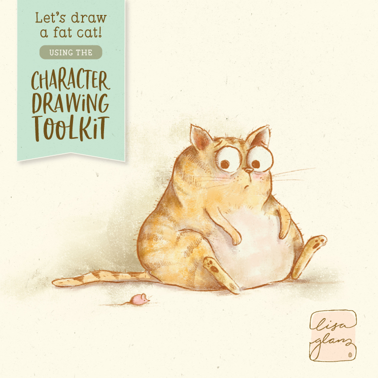 how-to-draw-fat-cat