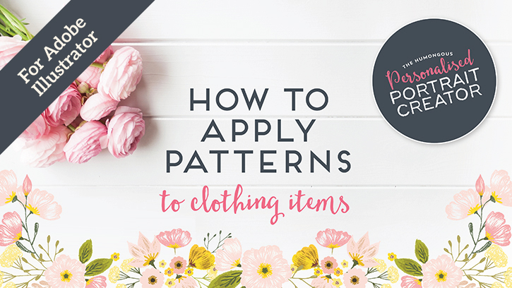 How to apply patterns in Adobe Illustrator