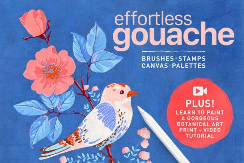 efforless_gouache_procreate_cover